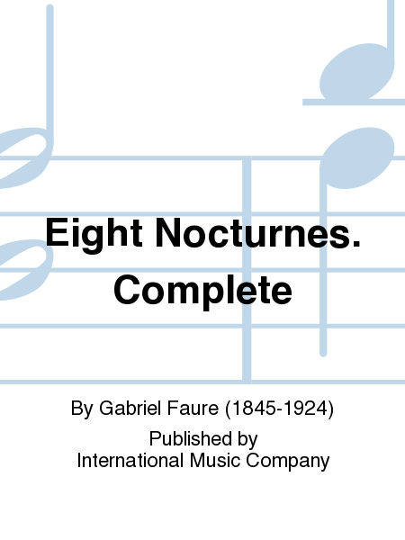 Eight Nocturnes. Complete