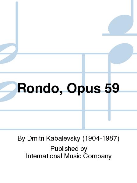 Rondo, Opus 59