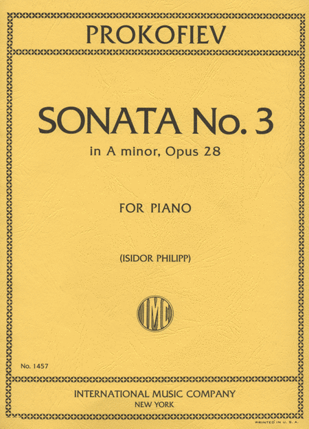 Sonata No. 3 in A minor, Op. 28