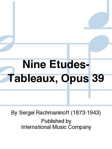 Nine Etudes-Tableaux, Opus 39