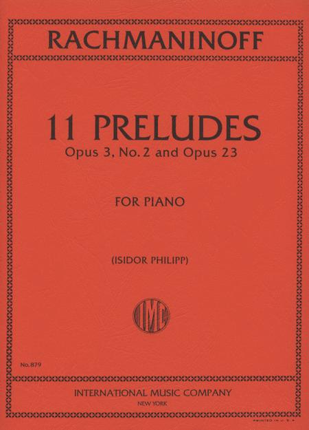 11 Preludes, Opus 23 & Opus 3, No. 2