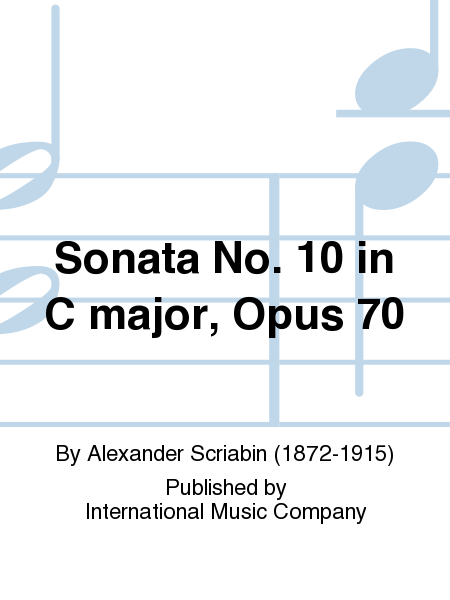 Sonata No. 10 in C major, Opus 70