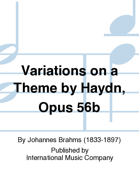 Variations on a Theme by Haydn, Opus 56b