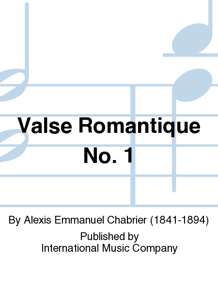 Valse Romantique No. 1