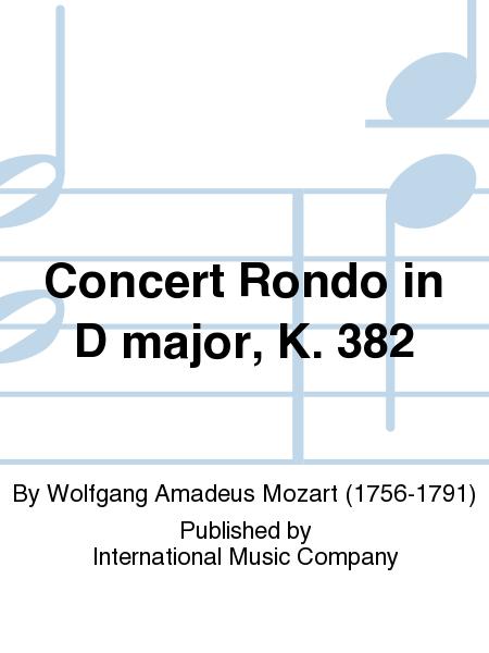 Concert Rondo in D major, K. 382