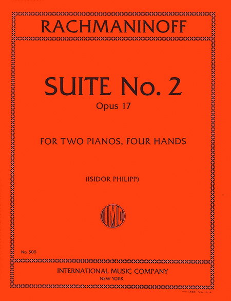 Suite No. 2, Opus 17