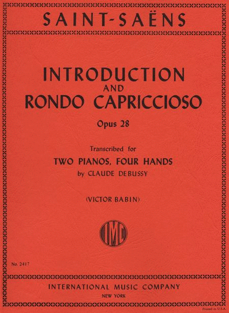 Introduction & Rondo Capriccioso, Opus 28