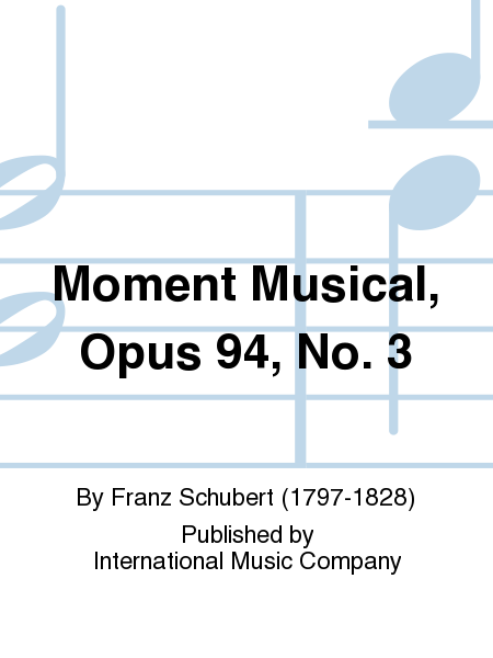Moment Musical, Opus 94, No. 3