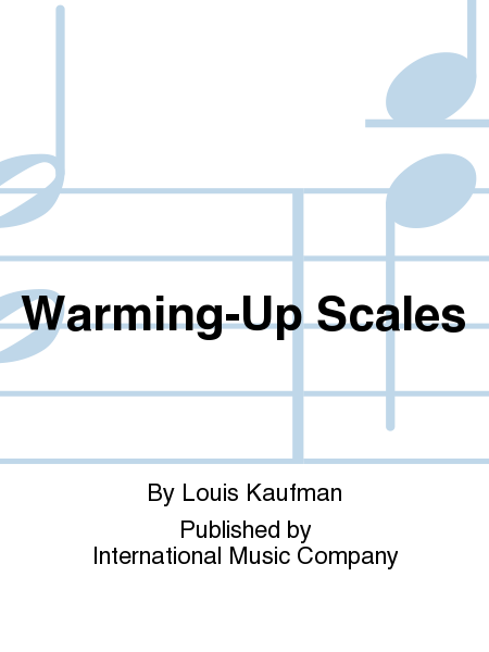 Warming-Up Scales