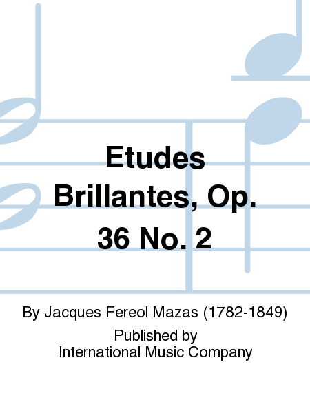 Etudes Brillantes, Op. 36 No. 2
