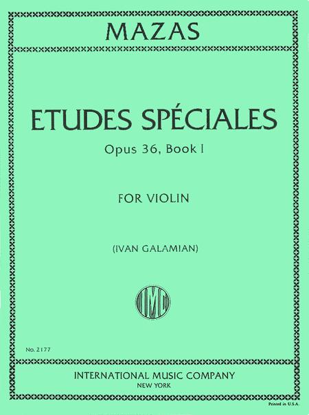 Etudes Speciales, Op. 36 No. 1