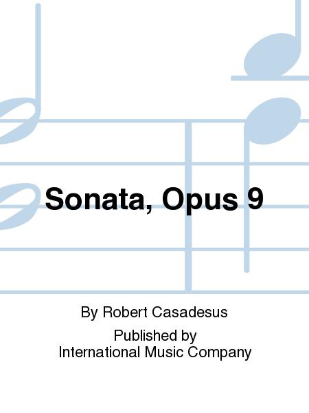 Sonata, Opus 9