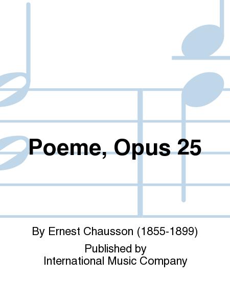Poeme, Opus 25