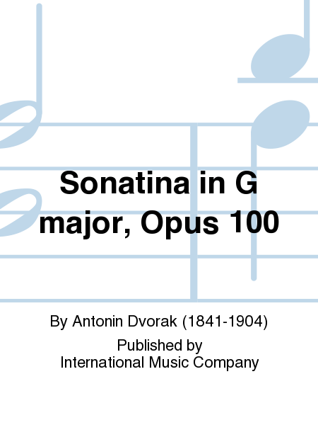Sonatina in G major, Opus 100