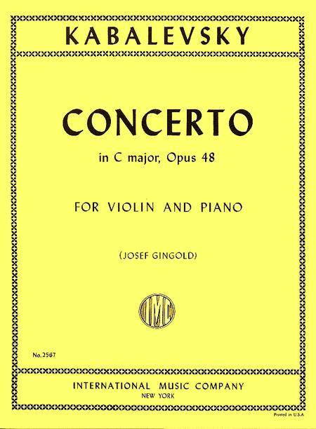 Concerto in C major, Opus 48