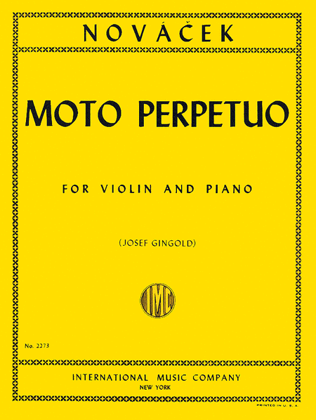 Moto Perpetuo in D minor