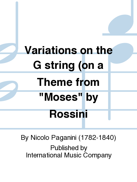 Variations on the G string (on a Theme from