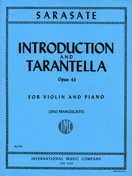 Introduction & Tarantella, Op. 43