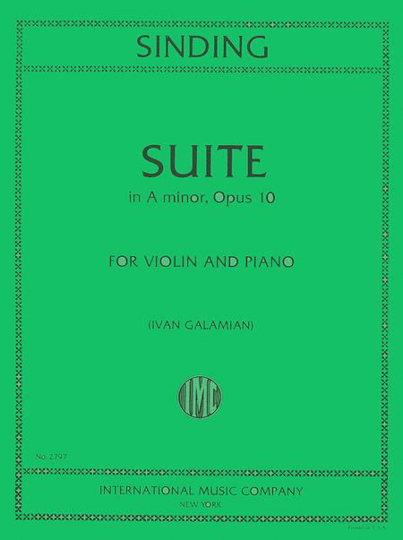 Suite in A minor, Op. 10