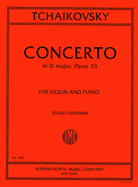 Concerto in D major, Op. 35