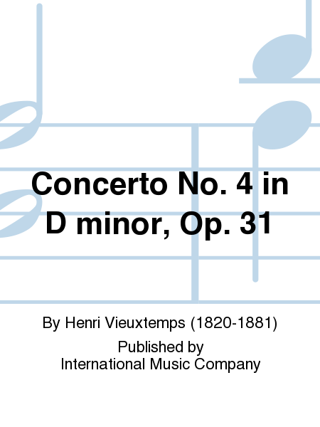 Concerto No. 4 in D minor, Op. 31