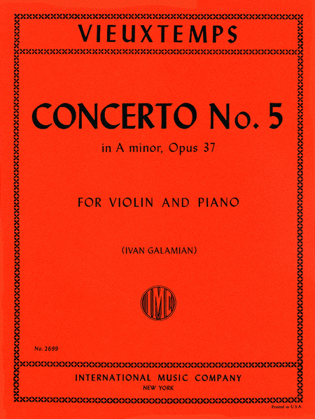 Concerto No. 5 in A minor, Op. 37