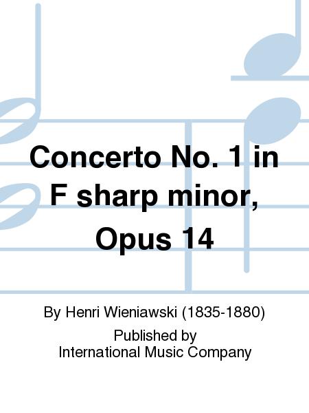 Concerto No. 1 in F sharp minor, Opus 14