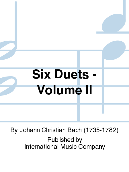 Six Duets - Volume II