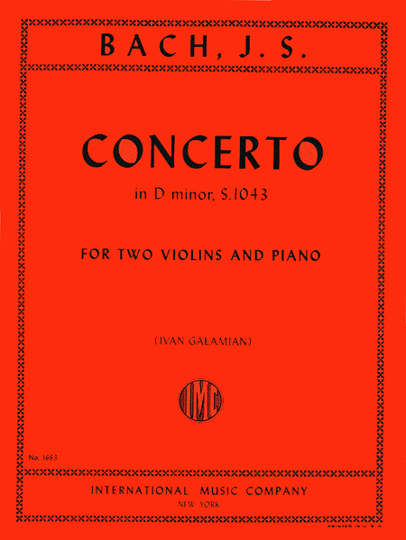Concerto in D minor, BWV 1043