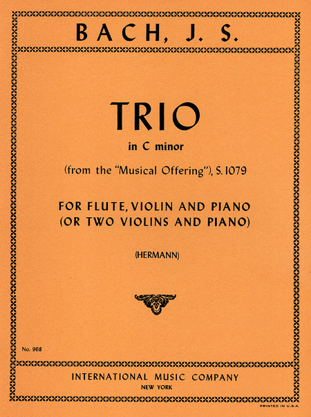 Trio in C minor (from