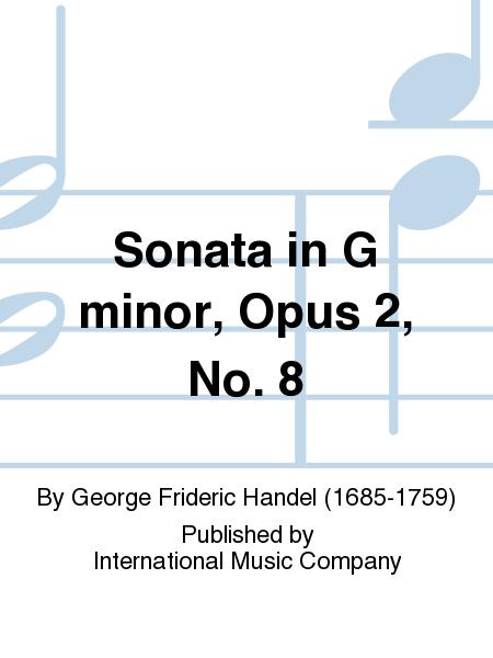Sonata in G minor, Opus 2, No. 8