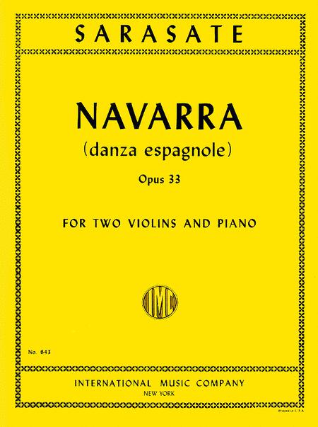Navarra - Danza Espagnole, Op. 33