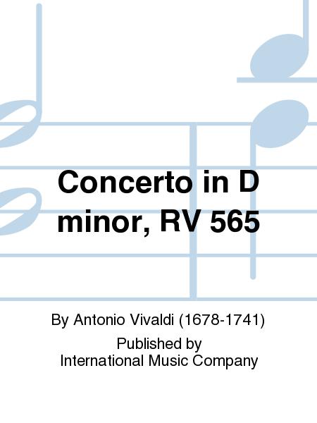 Concerto in D minor, RV 565