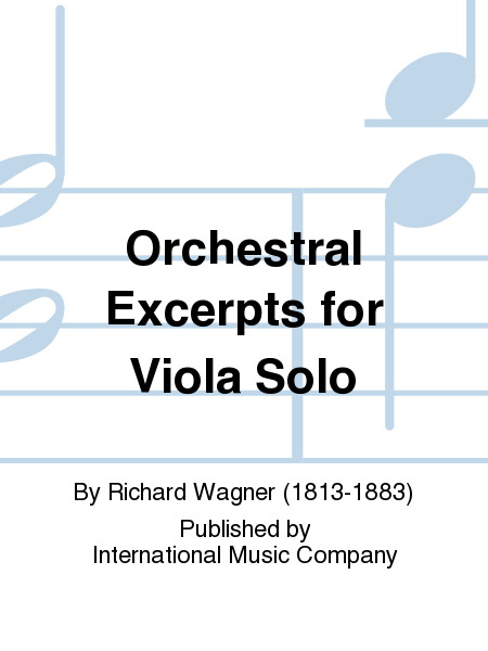 Orchestral Excerpts for Viola Solo