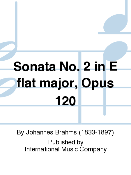 Sonata No. 2 in E flat major, Opus 120