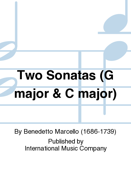 Two Sonatas (G major & C major)