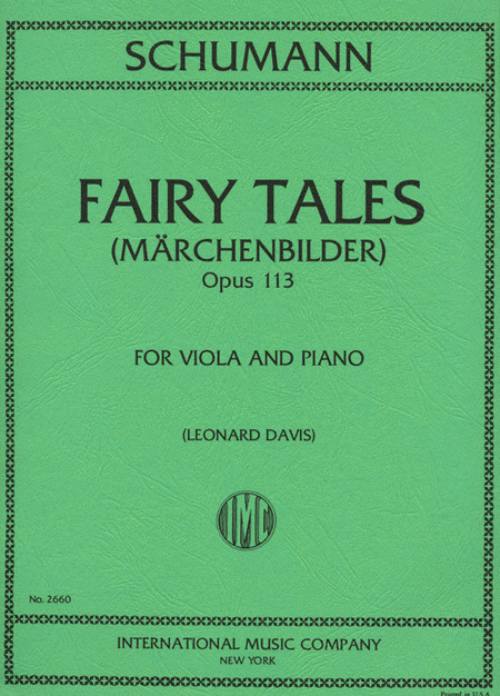 Fairy Tales. Four Pieces, Opus 113