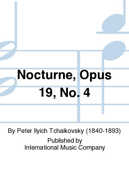 Nocturne, Opus 19, No. 4