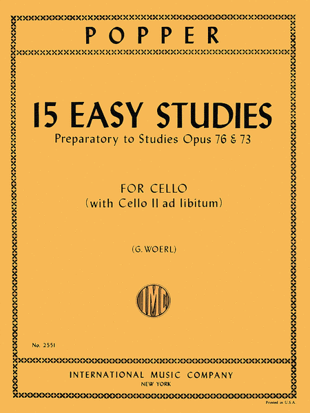 15 Easy Studies (1st position)