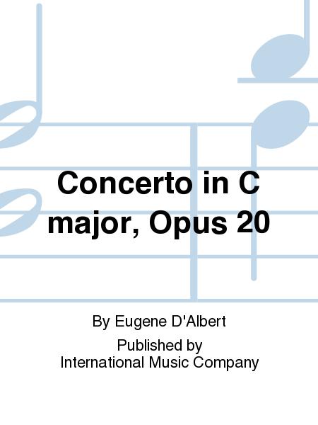 Concerto in C major, Opus 20