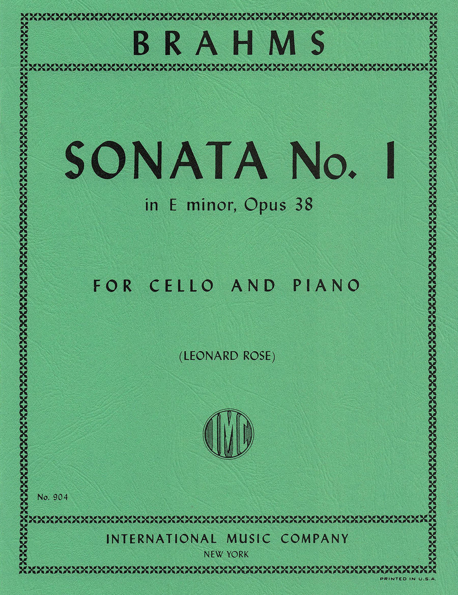 Sonata No. 1 in E minor, Op. 38