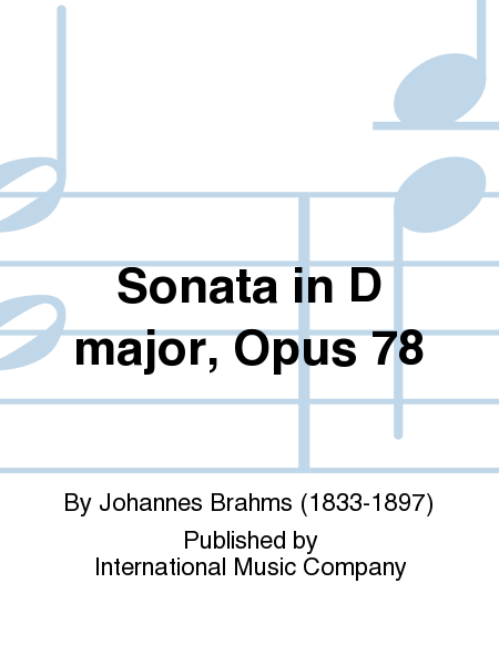Sonata in D major, Opus 78