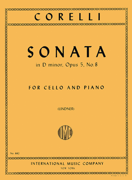 Sonata in D minor, Op. 5 No. 8