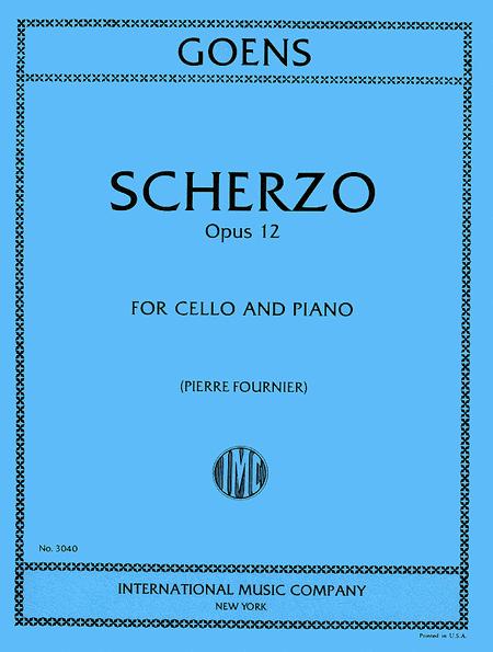 Scherzo, Op. 12