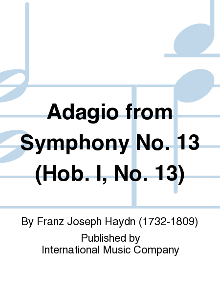 Adagio from Symphony No. 13 (Hob. I, No. 13)