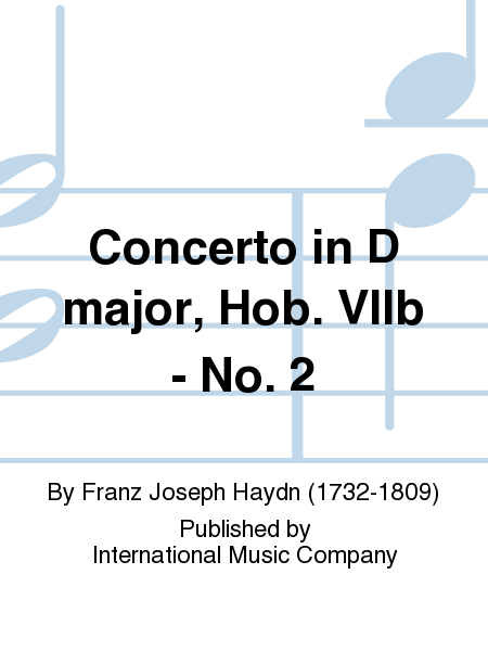 Concerto in D major, Hob. VIIb - No. 2