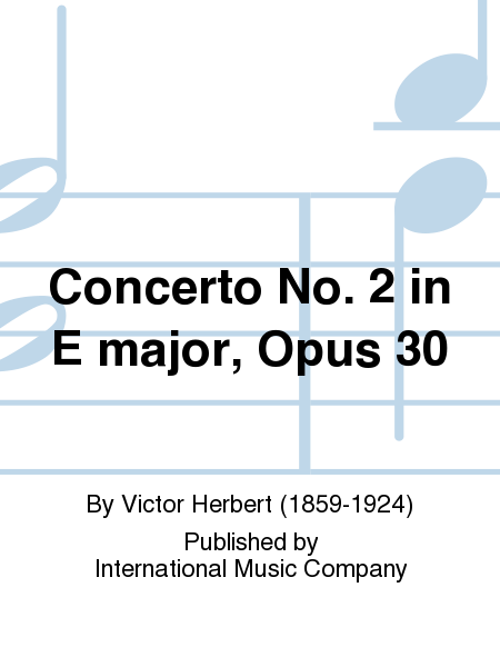 Concerto No. 2 in E major, Opus 30