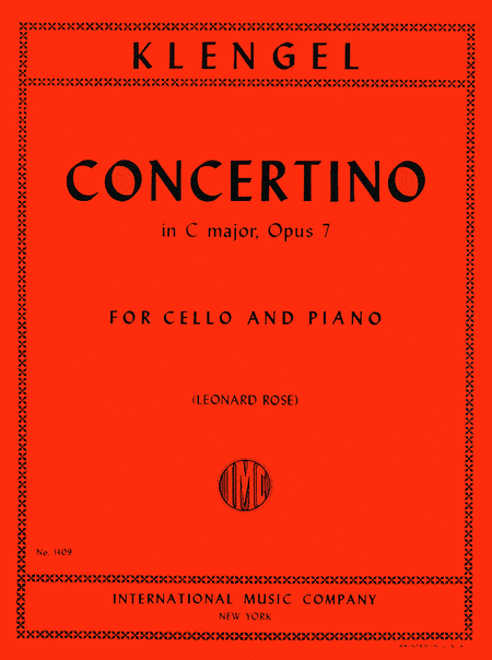 Concertino in C major, Op. 7