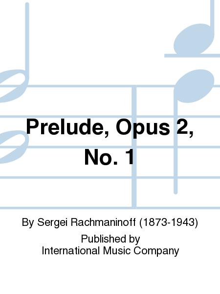 Prelude, Opus 2, No. 1