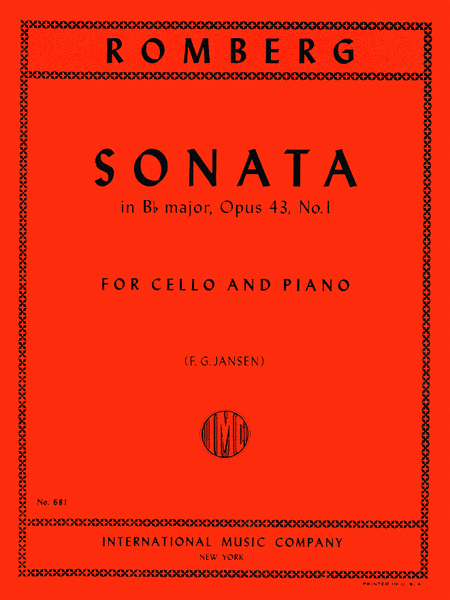 Sonata in B flat major, Op. 43 No. 1